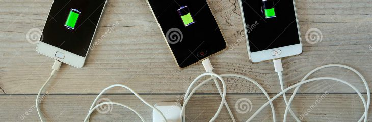 Smartphones need no more than one charger